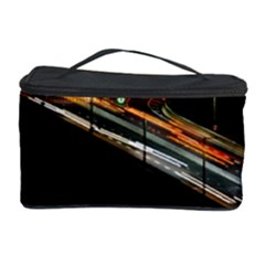Highway Night Lighthouse Car Fast Cosmetic Storage Case by Amaryn4rt