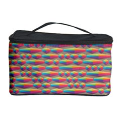 Background Abstract Colorful Cosmetic Storage Case by Amaryn4rt