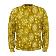 Flower Arrangements Season Gold Men s Sweatshirt