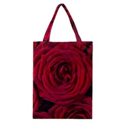 Roses Flowers Red Forest Bloom Classic Tote Bag