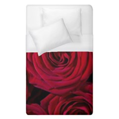 Roses Flowers Red Forest Bloom Duvet Cover (Single Size)