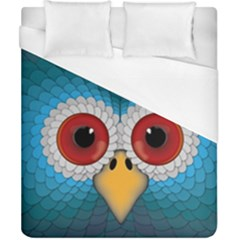 Bird Eyes Abstract Duvet Cover (california King Size) by Amaryn4rt