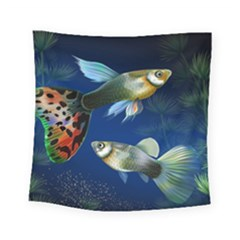 Marine Fishes Square Tapestry (small)