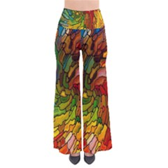 Stained Glass Patterns Colorful Pants