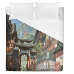 Japanese Art Painting Fantasy Duvet Cover (queen Size)
