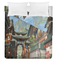Japanese Art Painting Fantasy Duvet Cover Double Side (queen Size)