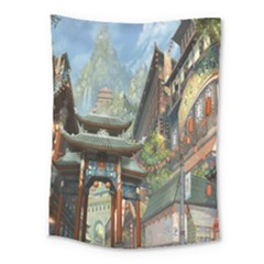 Japanese Art Painting Fantasy Medium Tapestry