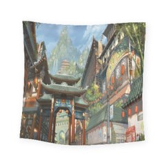 Japanese Art Painting Fantasy Square Tapestry (small)