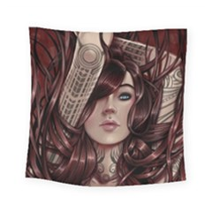 Beautiful Women Fantasy Art Square Tapestry (small)