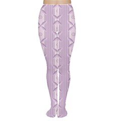 Flower Star Purple Women s Tights by Alisyart