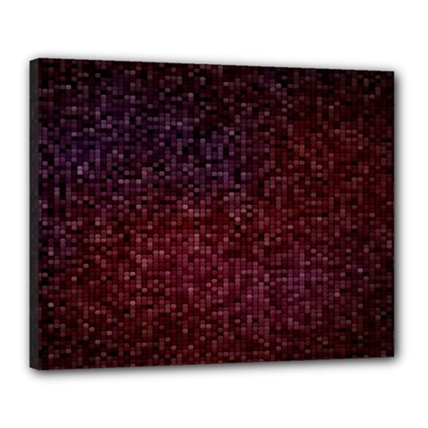 3d Tiny Dots Pattern Texture Canvas 20  X 16  by Amaryn4rt