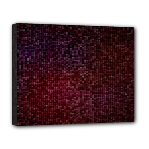 3d Tiny Dots Pattern Texture Deluxe Canvas 20  X 16   by Amaryn4rt