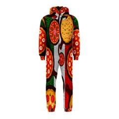 Pizza Italia Beef Flag Hooded Jumpsuit (kids)