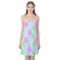 Spring Flower Tulip Floral Leaf Green Pink Camis Nightgown