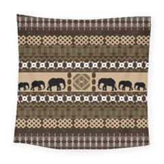 African Vector Patterns  Square Tapestry (large) by Amaryn4rt
