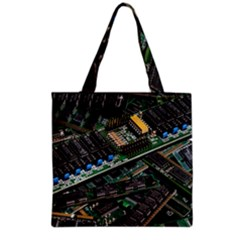 Computer Ram Tech Grocery Tote Bag by Amaryn4rt