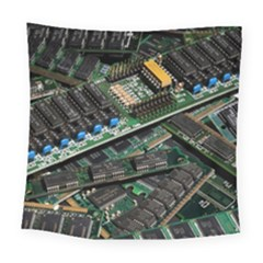 Computer Ram Tech Square Tapestry (large)