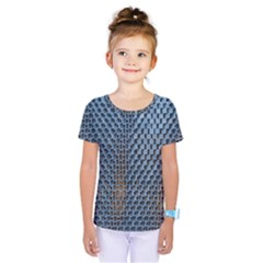 Parametric Wall Pattern Kids  One Piece Tee by Amaryn4rt
