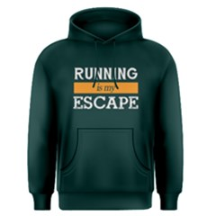 Running Is My Escape   Men s Pullover Hoodie by FunnySaying