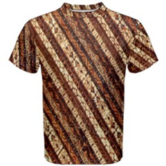 Udan Liris Batik Pattern Men s Cotton Tee
