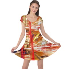 Telephone Box London Night Cap Sleeve Dresses