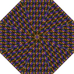 Seamless Prismatic Line Art Pattern Folding Umbrellas by Amaryn4rt