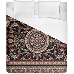 Vectorized Traditional Rug Style Of Traditional Patterns Duvet Cover (california King Size) by Amaryn4rt