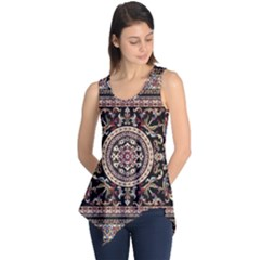 Vectorized Traditional Rug Style Of Traditional Patterns Sleeveless Tunic by Amaryn4rt