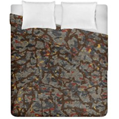 A Complex Maze Generated Pattern Duvet Cover Double Side (california King Size) by Amaryn4rt