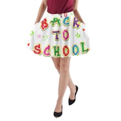 Back To School A-line Pocket Skirt by Amaryn4rt