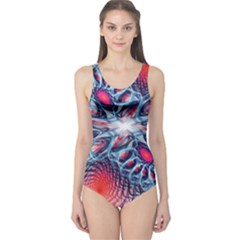 Creative Abstract One Piece Swimsuit