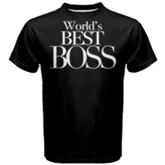 World s Best Boss   Men s Cotton Tee by FunnySaying