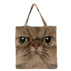 Cute Persian Cat Face In Closeup Grocery Tote Bag by Amaryn4rt