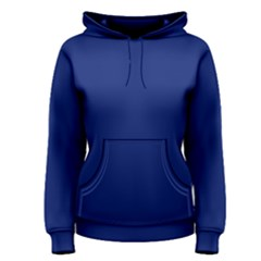 Bubbles Circle Blue Women s Pullover Hoodie