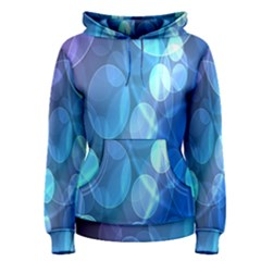 Circle Blue Purple Women s Pullover Hoodie