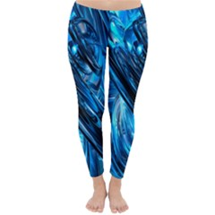Blue Wave Classic Winter Leggings
