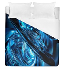 Blue Wave Duvet Cover (queen Size) by Alisyart