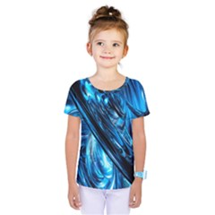 Blue Wave Kids  One Piece Tee