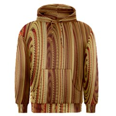 Circles Figure Light Gold Men s Pullover Hoodie