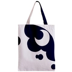 Month Blue Zipper Classic Tote Bag by Alisyart