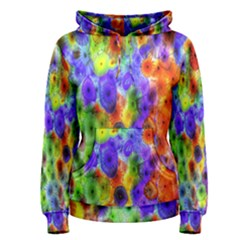Green Jellyfish Yellow Pink Red Blue Rainbow Sea Purple Women s Pullover Hoodie