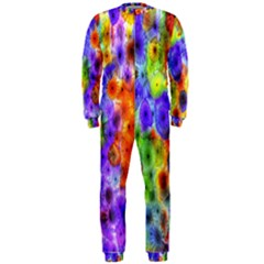 Green Jellyfish Yellow Pink Red Blue Rainbow Sea Purple Onepiece Jumpsuit (men)