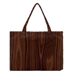 Texture Seamless Wood Brown Medium Tote Bag