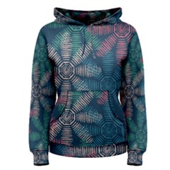 Spring Flower Red Grey Green Blue Women s Pullover Hoodie