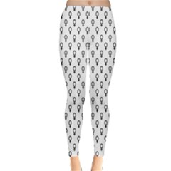 Woman Plus Sign Classic Winter Leggings