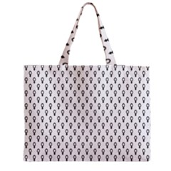 Woman Plus Sign Medium Tote Bag