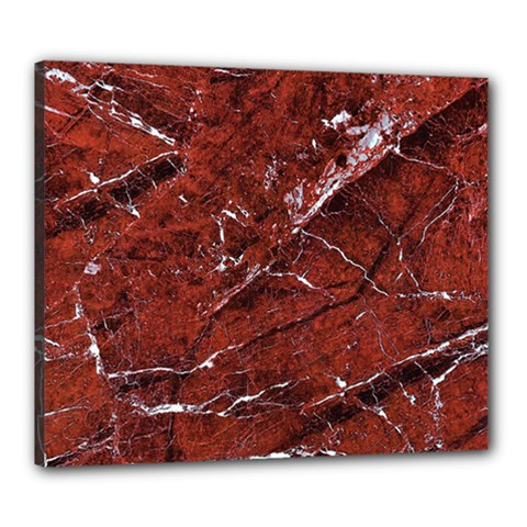 Texture Stone Red Canvas 24  X 20