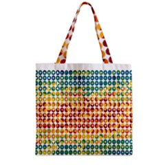Weather Blue Orange Green Yellow Circle Triangle Grocery Tote Bag