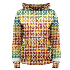 Weather Blue Orange Green Yellow Circle Triangle Women s Pullover Hoodie