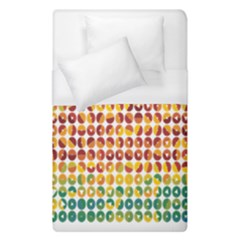 Weather Blue Orange Green Yellow Circle Triangle Duvet Cover (Single Size)